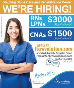 Join the Standing Stone Care & Rehab team!